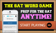 Play The SAT Word Game